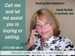 Holliday Home Sales – by Robin Holliday