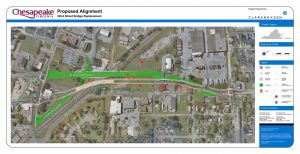 22nd Street Bridge Alignment