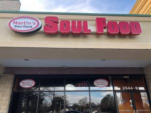 Martin's Soul Food has closed its South Norfolk store